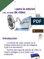 Softwares para la edición no lineal de video