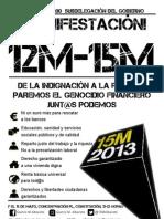 15M - Cartel 12M