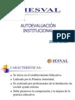 PRESNTACION AUTOEVALUACIÓN INSTITUCIONALCECILIA