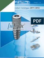 Catalogo TioLogic Implant