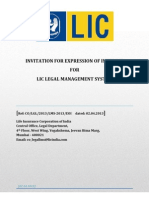 Expression of Interest Legal Management System