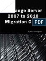 Exchange Server 2007 to 2010 Migration Guide V1.0 - Planning Chapter