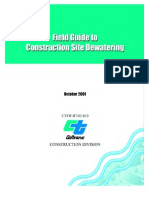Dewatering Guide