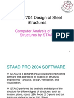 30353580 Design of Steel Truss STAAD