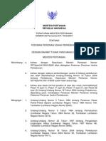 Permentan No. 26 Tahun 2007 Tentang Pedoman Perijinan Usaha Perkebunan