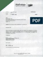 MinTrabajo Envio Resolucion 00000840 -1 Abril -13 Aerorepub