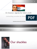 Dr. Swamy's Agenda for youth