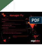 Manager Fu mini-poster