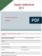 Presentación institucional 2013 (1)