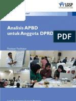 Analisa APBD Untuk DPRD