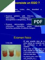 Examen Fisico-quimico Orina