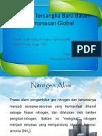 Nitrogen, Tersangka Baru Dalam Pemanasan Global (Tugas III)