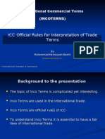 International Commercial Term 2000 ( incoterms 2000)