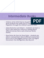 Intermediate Books EDEL453 WIKI