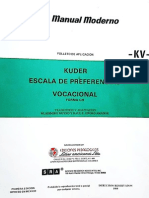 Kuder Escala de Preferencias