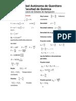 Formulario Para Examen Final
