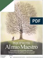 Un inedito di Philiph Roth, «Al mio Maestro» - La Repubblica - 05.05.2013