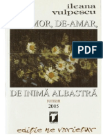 De-Amor, De-Amar, De Inima Albastra - Ileana Vulpescu