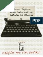 Nota Informativa Batuta La Masina - Ileana Vulpescu