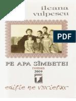 Pe Apa Sambetei - Ileana Vulpescu