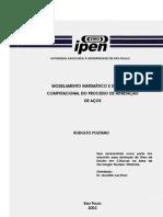MODELAMENTO MATEMÁTICO E SIMULAÇÃO COMPUTACIONAL DO PROCESSO DE NITRETAÇÃO DE AÇOS