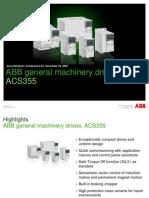 ACS355 Product Presentation RevA