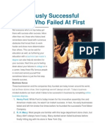 50 Famously Successful People Who Failed at First