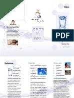 Water - Brochure