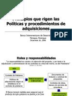BPolíticas y Procedimientos Adquisiciones