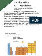 Química General e Inorgánica CLASE 1.2a Tabla Periodica