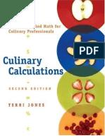 Culinary Calculations