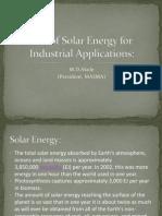 Akole - Solar Energy- P1
