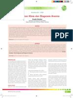 Pendekatan Klinis Dan Diagnosis Anemia