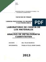 Ciencia de Los Materiales Trabajo 3
