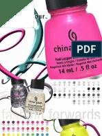 China Glaze - Alexandar Cosmetics Catalog7