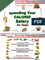 teencaloriesalary2012-120827085726-phpapp01 Teen Calorie and salary analogy presentation