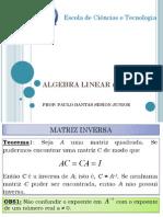 Aula3-Matriz Inversa e Elementar