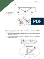 47319461 Exercicio Estruturas Metalicas Pecas Tracionadas Prof Juan W Moore