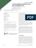 Bullous Pemphigoid Guidelines 2012