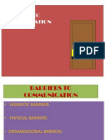 Barriers to Com (5)