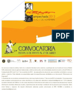 Convocatoria Campechada 2013   R. Tufiño