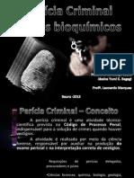 Perícia Criminal - Testes bioquímicos