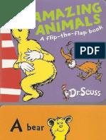 'Amazing Animals' - Dr. Seuss (Pocket Library)