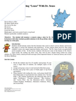 Cutting Leuss With Dr Seuss Resource Packet