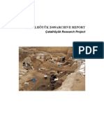 Çatalhöyük Archive Report 2009