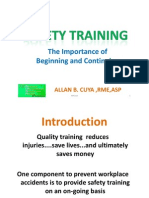 01 Safety Training