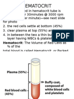 Blood  Physiology Part IV- Plasma Proteins,Hematocrit, ESR by Dr A K Gupta