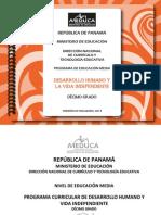 Desarrollo Humano y La Vida Independiente 10 2013