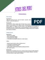 Peru y Postres 2