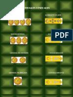 Grados y Jerarquc3ada Militar